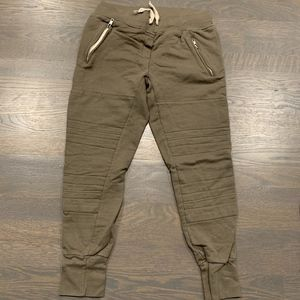 Sincerely Jules Army Green Joggers